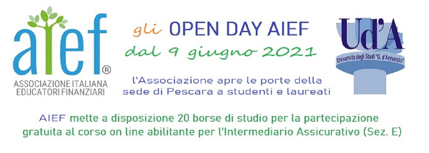 banner open day AIEF